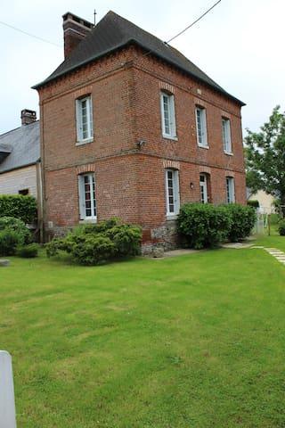 mi casita para pasarse lo bien en Normandia - Gruchet-Saint-Siméon - 단독주택