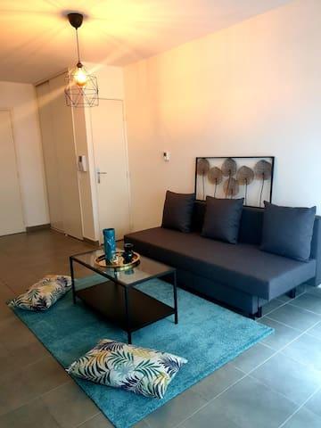 Appartement entier à Villeurbanne proche métro !
