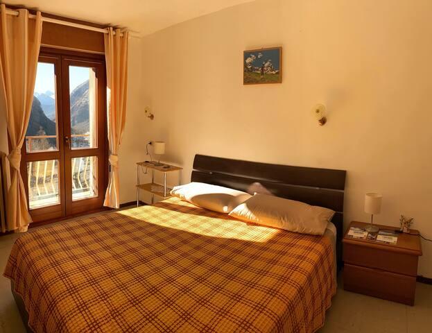 Appartamento con vista nel centro di Valtournenche