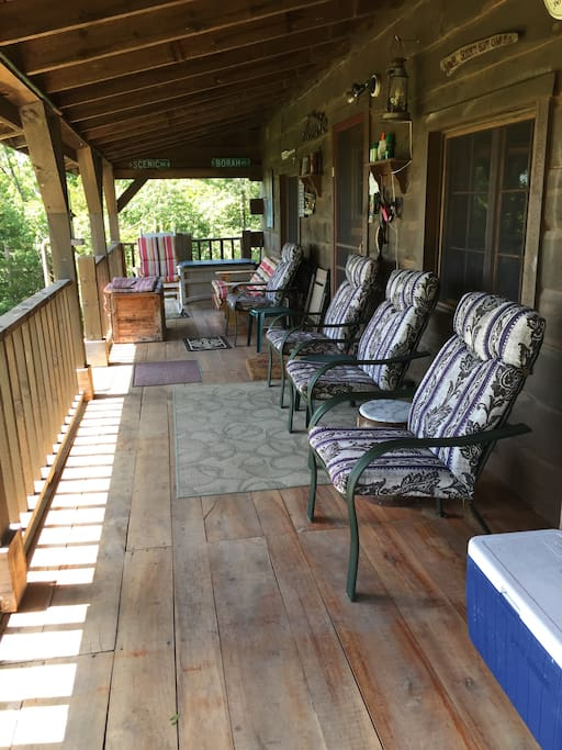 Great deck for relaxing