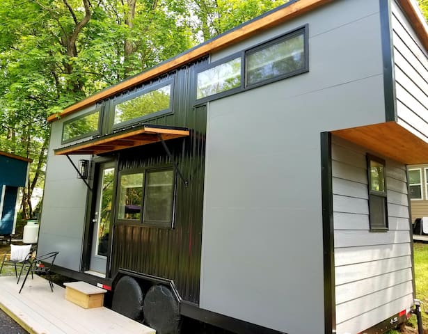 Escape Tiny House at Tiny Estates 14 Acre Property