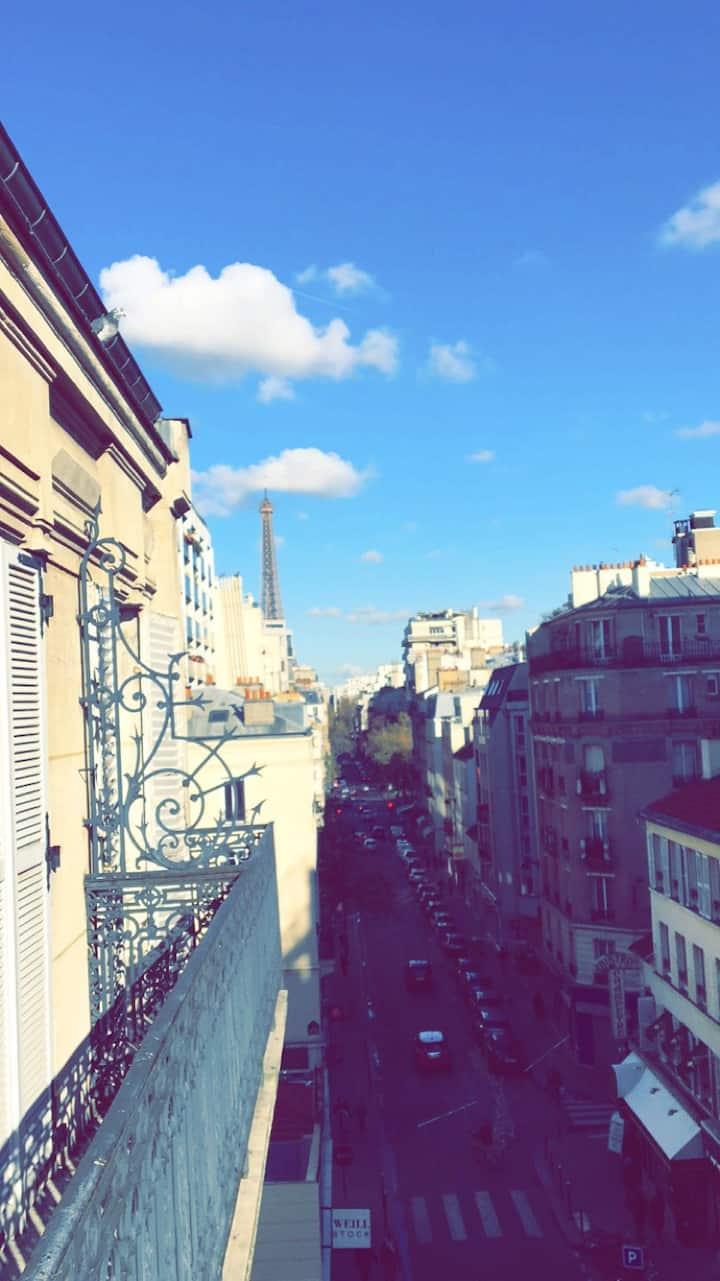 Lovely Appart - Eiffel Tower