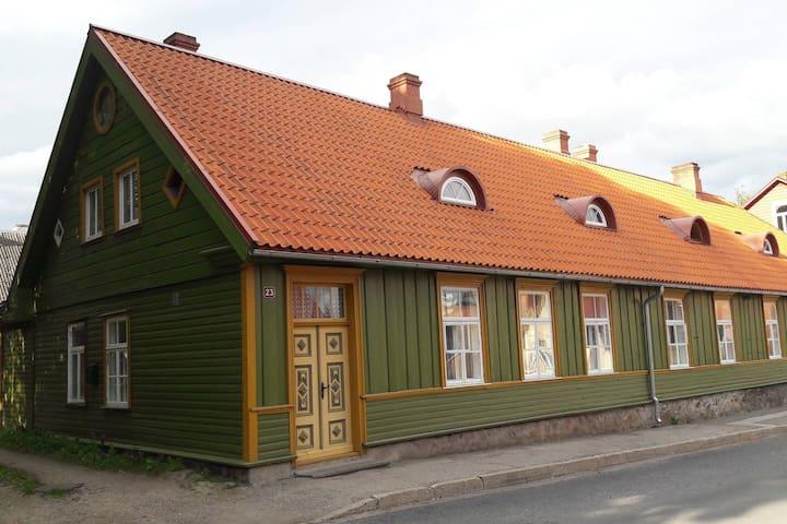 Cozy Old Town apartment near the lake of Viljandi