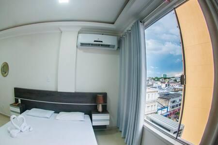 Temporada centro de Manaus, luxo e conforto prox.7