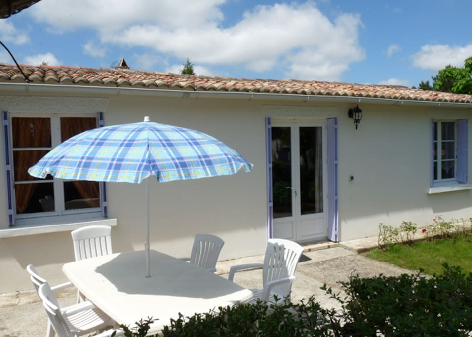 Terrasse du gîte