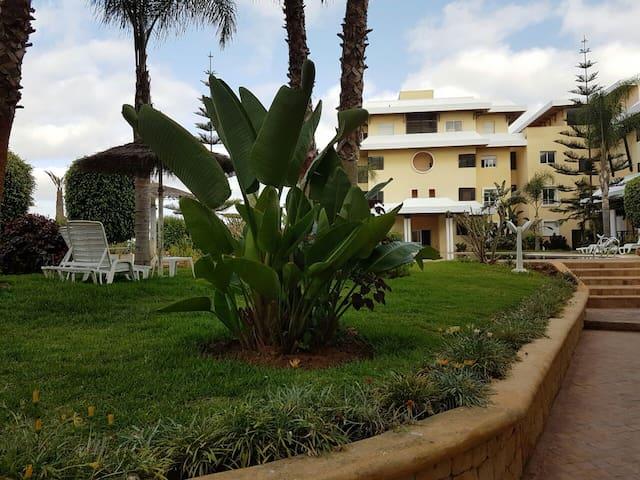 Joli appartement dans Résidence Golfique - Ben Slimane - Appartement