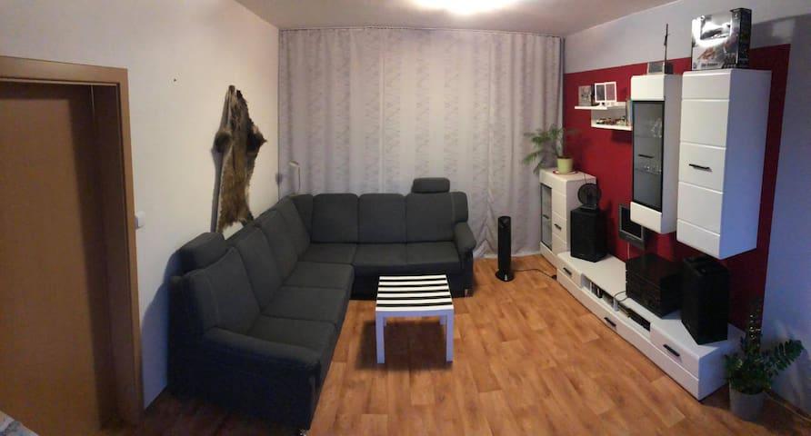 Pěkné ubytování v klidné části města Brna