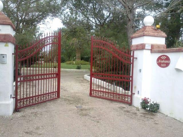 Appartamento taverna in grande giardino a Ugento - Ugento - Leilighet