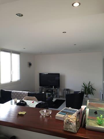 Belle appartement proche st malo - Saint-Méloir-des-Ondes - Apartment