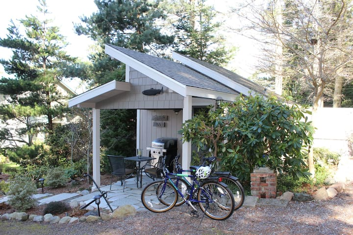 Mountain Bikes (and Helmets) Available for Guests - at their own risk
