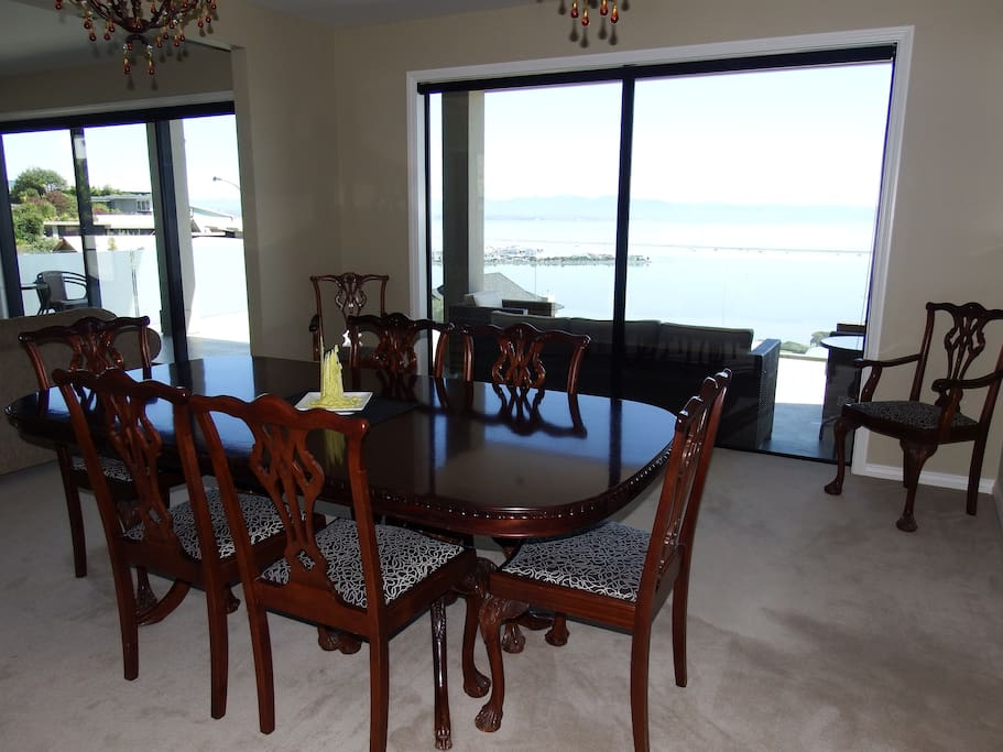 Enjoy views of Tasman Bay while you enjoy your continental Breakfast