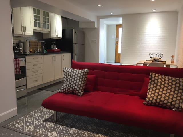 Lovely Renovated Private 1 Bedroom in Riverdale