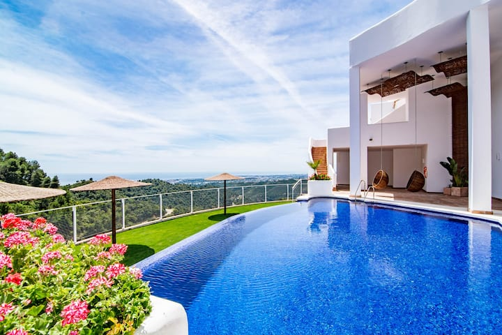 Secluded home in stunning Marbella