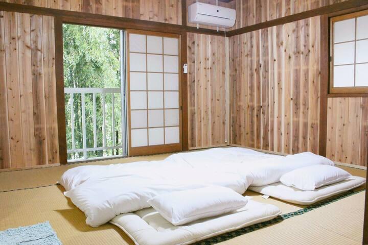 대나무숲,편백나무,가족룸 - Yufu-shi - Ryokan (Japan)
