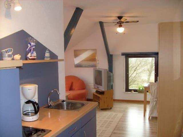 Gemütliches, sonniges Apartment, 5 Min zum Strand - Friedrichskoog - Daire