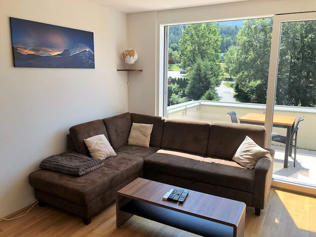 sunny and quiet 1 bedroom apartment with balcony
