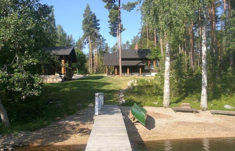 Villa Tammio-Luxury with private beach