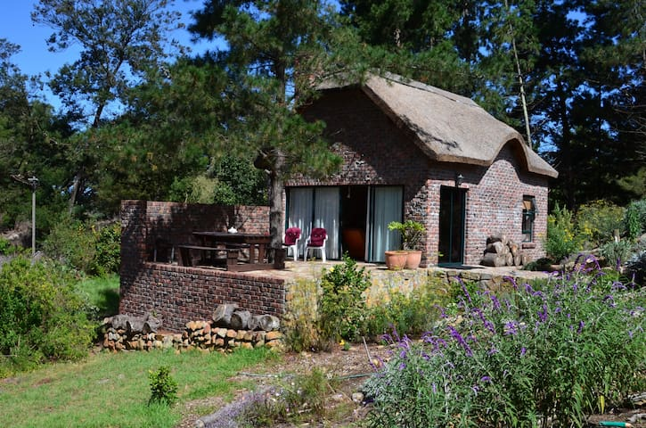 Rivers View , Avolonte.Thatch Garden Cottage
