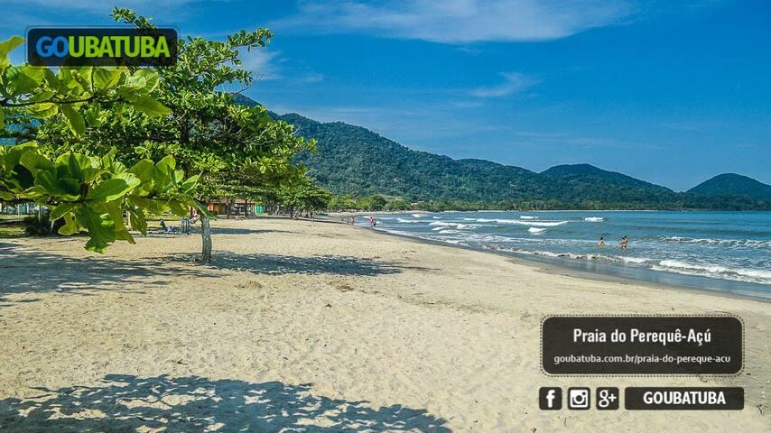 SUITE PRIVADA, LADO praia Pereque Açu, prox centro