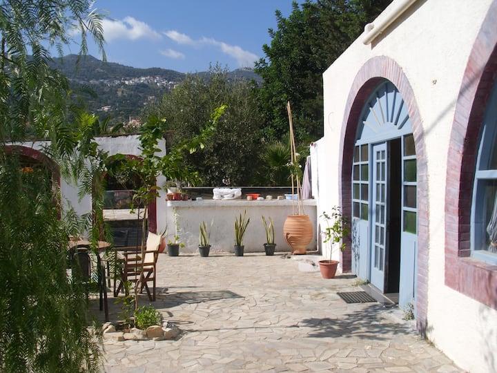 Gabriella's Garden Cretan Style + Cooking & Yoga