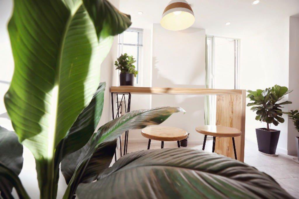 采光极好的客厅