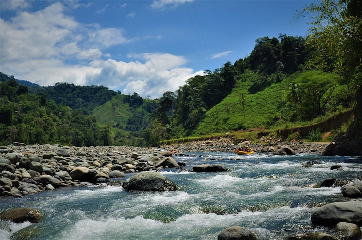 Savegre River , cleanest River in CR