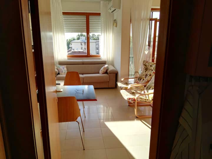 Quiet apartment for events and Mostra del Cinema.