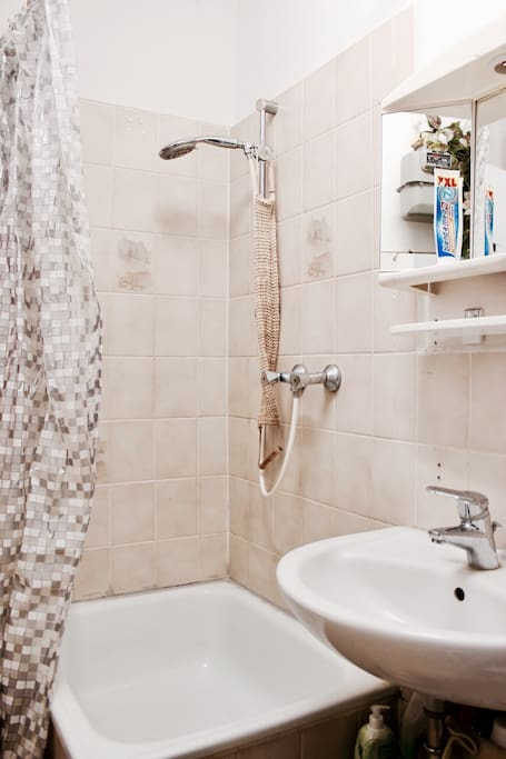 Bathroom to be shared with host