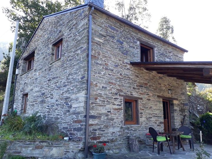 Una casa con vistas en Souto de Mogos
