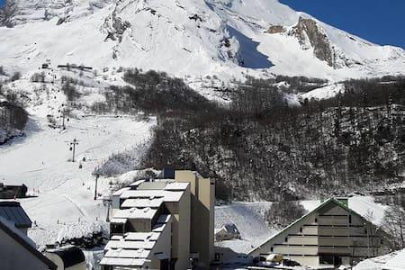 Gourette station de ski, studio 4 personnes