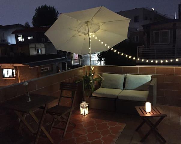 [Hondae Oasis #1] Flat + Private Terrace - Seodaemun-gu - Wohnung