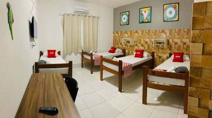 Hotel!! 105 Setor Bueno  COM CAFÉ DA MANHÃ