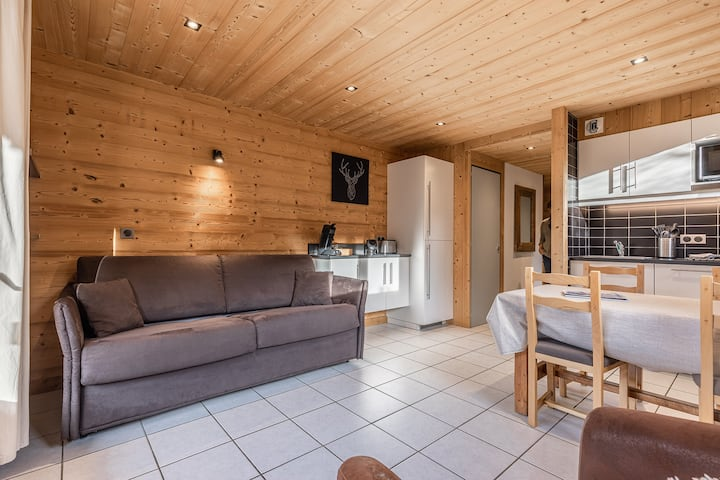 Appartement La Duche 101 à  400m des pistes de ski