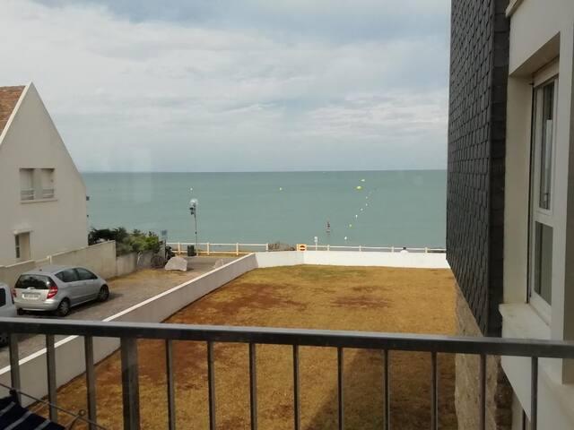 Appartement F3 Front de mer à Jullouville