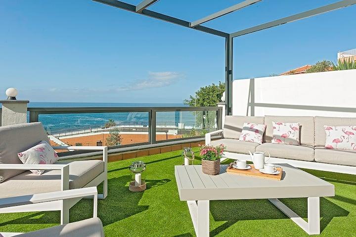 House of the sea, beach La Arena, Tacoronte