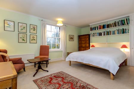 Elegant bedroom:  country house, 2km Oxford centre - Oxford