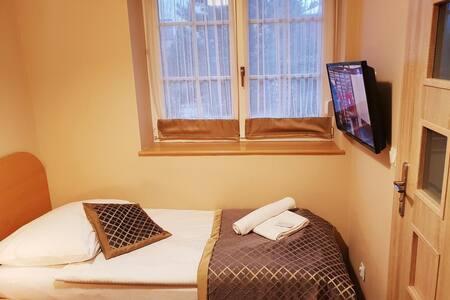 Mały pokój jednoosobowy