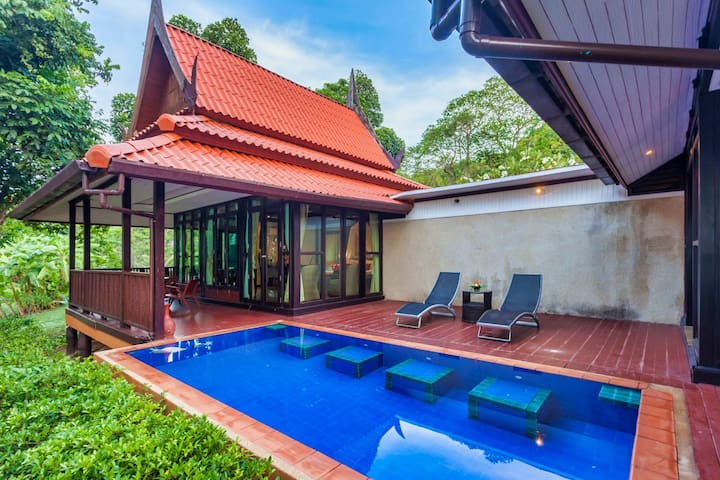 Feel relaxed and peaceful on your own private swimming pool and balcony.