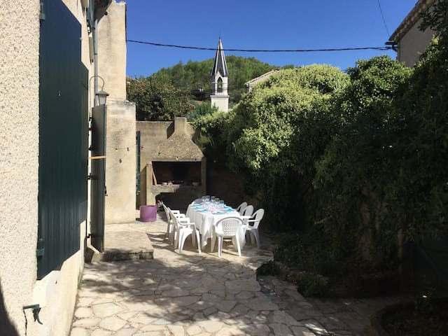 Holiday rental in provencal Mas for up to 8 people - Propiac - Apartamento