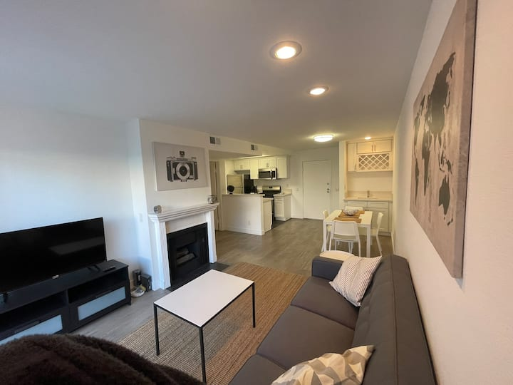 Spacious Ultra Modern 2BD/2BA w/ All Amenities