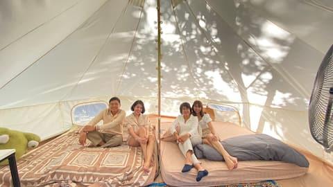 Camping Hut กระโจม (A)/ภูพาราแคมป์ @ภูกระดึง