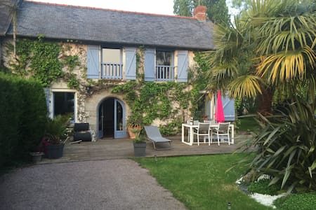 Maison en campagne, entre Rennes et Saint Malo - Montreuil-le-Gast - Haus