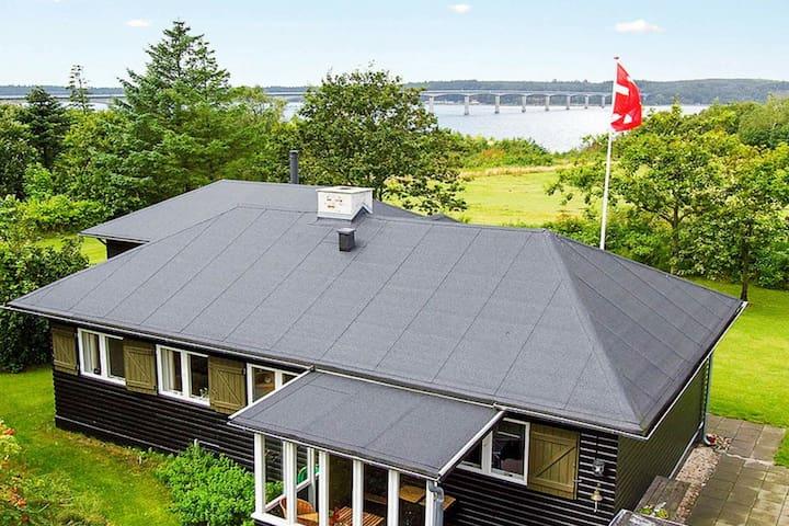 Agréable maison de vacances dans le Jutland avec terrasse