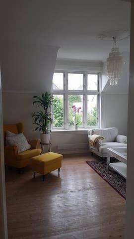 Rom/loftstue i sjarmerende hus - Tønsberg - Apartamento