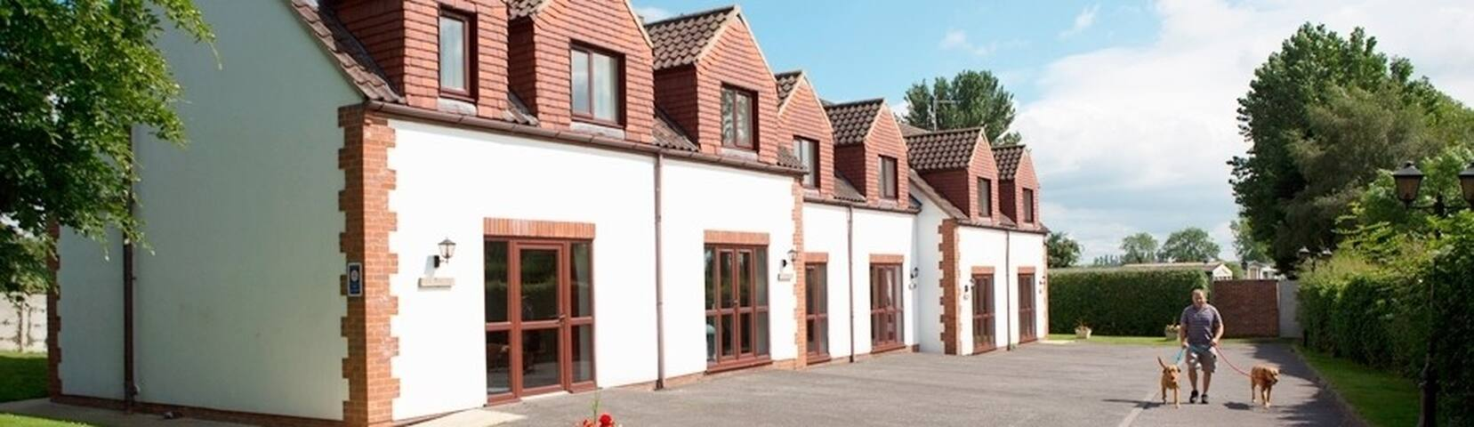 White Rose Cottages set in beautiful Yorkshire