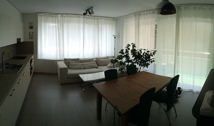 Room with own bath near EPFL/Unil, 1000 CHF/month