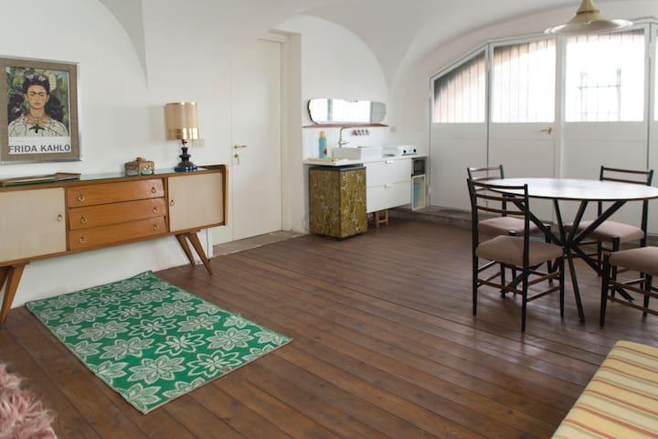 COSY WAREHOUSE ON ROMAN AQUEDUCT - Roma - Loft