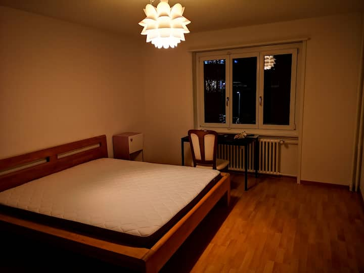 one big room in a shared flat, center of bern