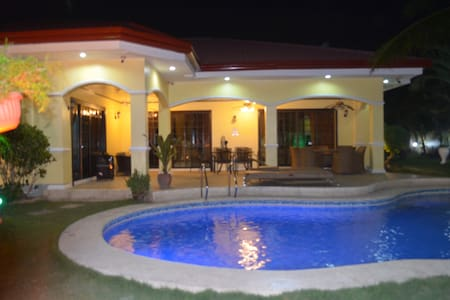 House and lot with private pool for rent