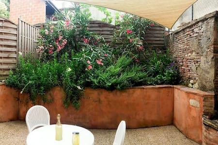 Le Petit Nid avec terrasse pour 2 - Beaumont-de-Lomagne
